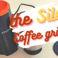 The Silent coffee grinder